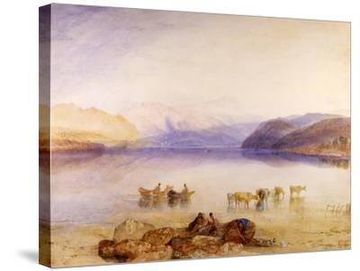 Ullswater, Cumberland, C.1835-J^ M^ W^ Turner-Stretched Canvas Print