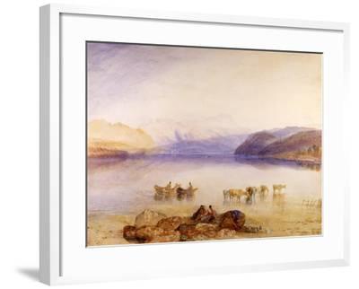 Ullswater, Cumberland, C.1835-J^ M^ W^ Turner-Framed Giclee Print