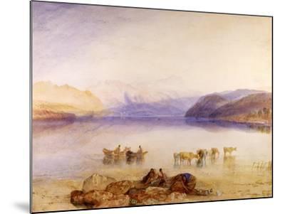 Ullswater, Cumberland, C.1835-J^ M^ W^ Turner-Mounted Giclee Print