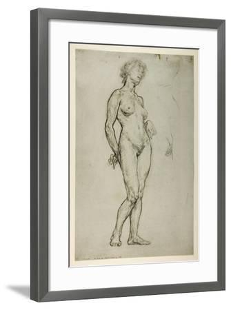 Study of a Female Figure, 1898-Sir William Orpen-Framed Giclee Print