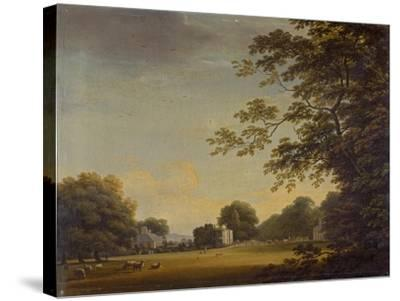 View in Mount Merrion Park-William Ashford-Stretched Canvas Print