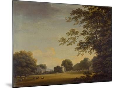 View in Mount Merrion Park-William Ashford-Mounted Giclee Print