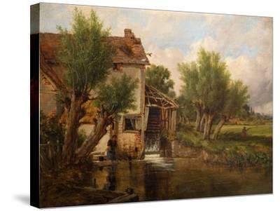 An Old Mill Near Worcester, 1880-Benjamin Williams Leader-Stretched Canvas Print