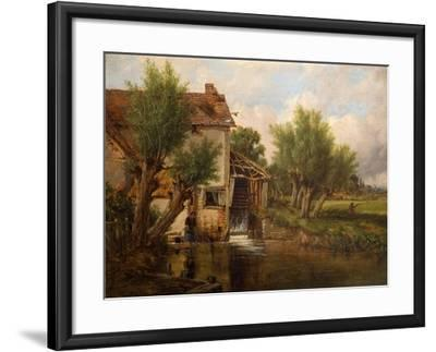 An Old Mill Near Worcester, 1880-Benjamin Williams Leader-Framed Giclee Print