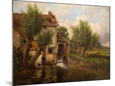 An Old Mill Near Worcester, 1880-Benjamin Williams Leader-Mounted Giclee Print