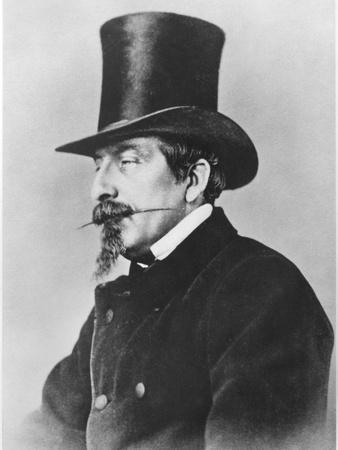 Portrait of Emperor Napoleon III-Nadar-Photographic Print