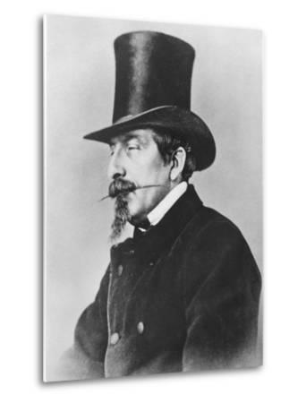 Portrait of Emperor Napoleon III-Nadar-Metal Print