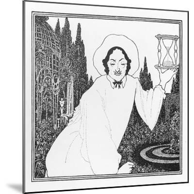 Cover Design to 'The Pierrot of the Minute', 1897-Aubrey Beardsley-Mounted Giclee Print