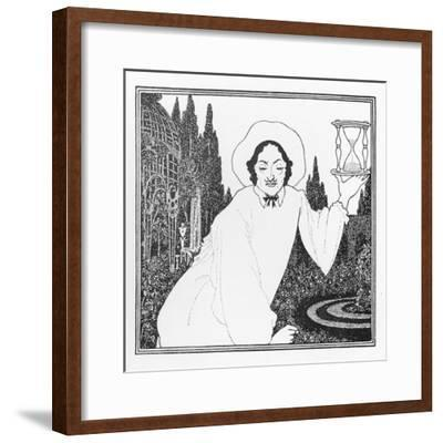 Cover Design to 'The Pierrot of the Minute', 1897-Aubrey Beardsley-Framed Giclee Print