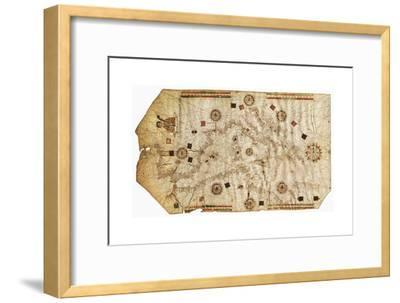 Portulario Del Mediterraneo, 1538-Bartolomeo Olives-Framed Giclee Print