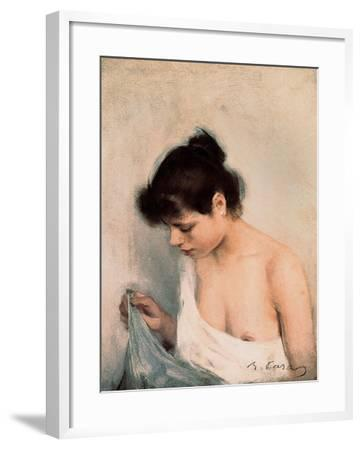 Study, C.1893-Ramon Casas i Carbo-Framed Giclee Print