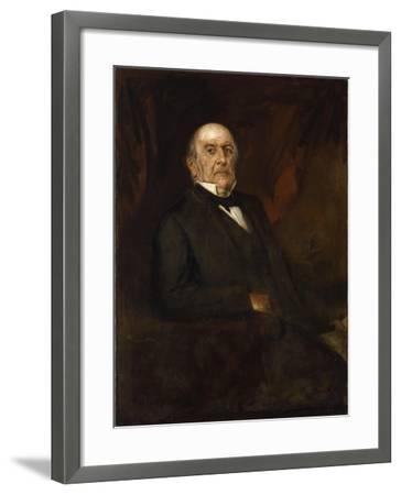 Portrait of William Ewart Gladstone, 1886-Franz Seraph von Lenbach-Framed Giclee Print