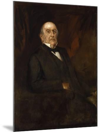 Portrait of William Ewart Gladstone, 1886-Franz Seraph von Lenbach-Mounted Giclee Print