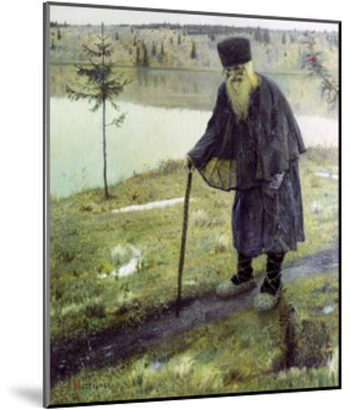 The Hermit-Mikhail Vasilievich Nesterov-Mounted Giclee Print