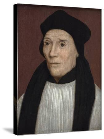 Portrait of John Fisher, Bishop of Rochester, Mid-16th Century-Hans Holbein the Younger-Stretched Canvas Print