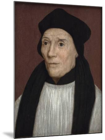 Portrait of John Fisher, Bishop of Rochester, Mid-16th Century-Hans Holbein the Younger-Mounted Giclee Print