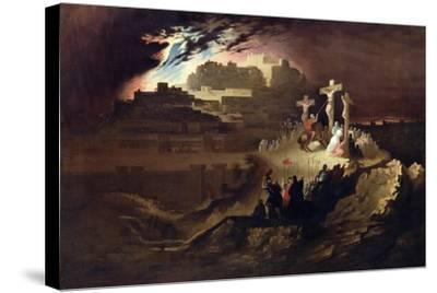Calvary, C.1830-40-John Martin-Stretched Canvas Print