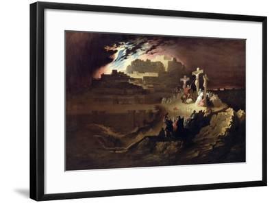 Calvary, C.1830-40-John Martin-Framed Giclee Print