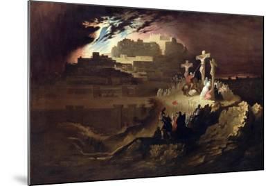 Calvary, C.1830-40-John Martin-Mounted Giclee Print