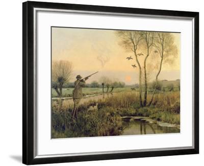 Duck Shooting-Christopher William Strange-Framed Giclee Print