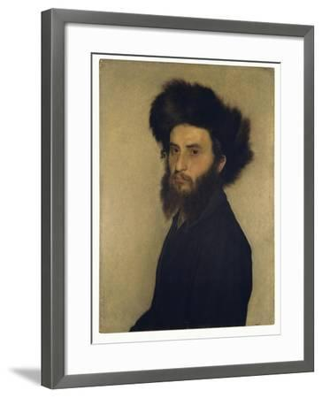 Portrait of a Young Jewish Man-Isidor Kaufmann-Framed Giclee Print