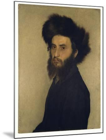 Portrait of a Young Jewish Man-Isidor Kaufmann-Mounted Giclee Print