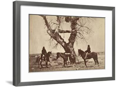 Burial, Dakota, 1868-Alexander Gardner-Framed Giclee Print
