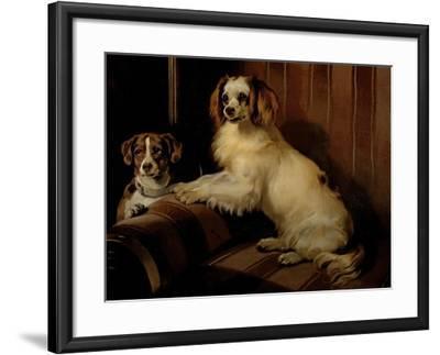 Bon(E)Y and Var, C.1843-Edwin Henry Landseer-Framed Giclee Print