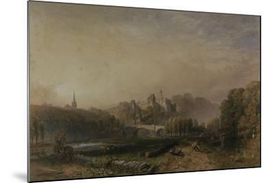 View of Lismore Castle During the 6th Duke of Devonshire's Alterations-Samuel Cook-Mounted Giclee Print