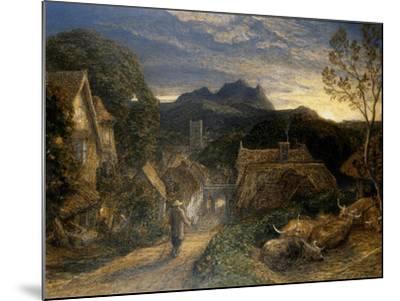 The Bellman-Samuel Palmer-Mounted Giclee Print