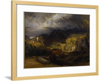 Morning-Samuel Palmer-Framed Giclee Print
