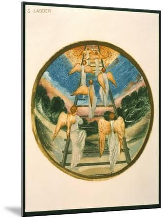 Jacob's Ladder, Angels Returning Tp Heaven, Plate 111 from 'The Flower Book'-Edward Burne-Jones-Mounted Giclee Print