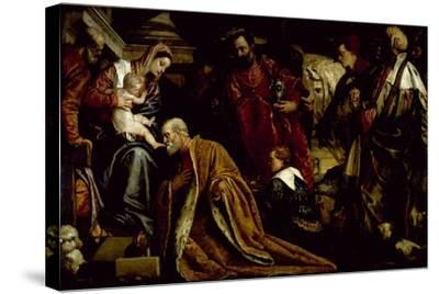 The Adoration of the Magi-Paolo Veronese-Stretched Canvas Print