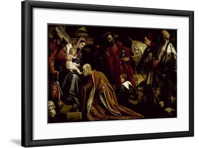 The Adoration of the Magi-Paolo Veronese-Framed Giclee Print