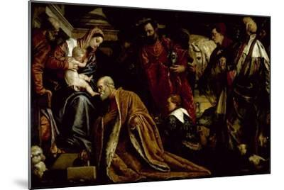 The Adoration of the Magi-Paolo Veronese-Mounted Giclee Print