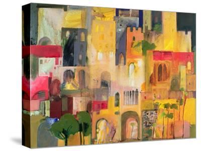 Castle, 2007-08-Derek Balmer-Stretched Canvas Print