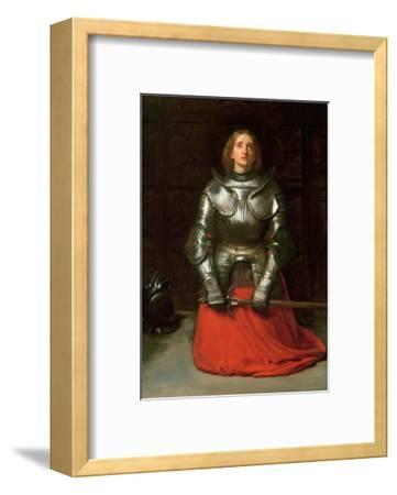 Joan of Arc, 1865-John Everett Millais-Framed Giclee Print