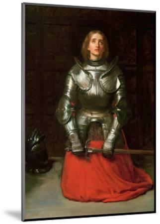 Joan of Arc, 1865-John Everett Millais-Mounted Giclee Print