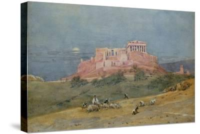 The Acropolis, C.1885-Robert Weir Allan-Stretched Canvas Print