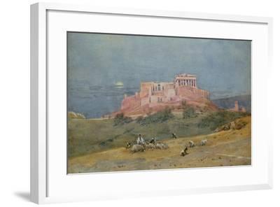 The Acropolis, C.1885-Robert Weir Allan-Framed Giclee Print