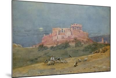 The Acropolis, C.1885-Robert Weir Allan-Mounted Giclee Print