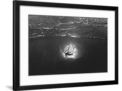 Reflection in Sea Water, Porbandar--Framed Photographic Print