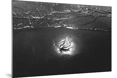 Reflection in Sea Water, Porbandar--Mounted Photographic Print