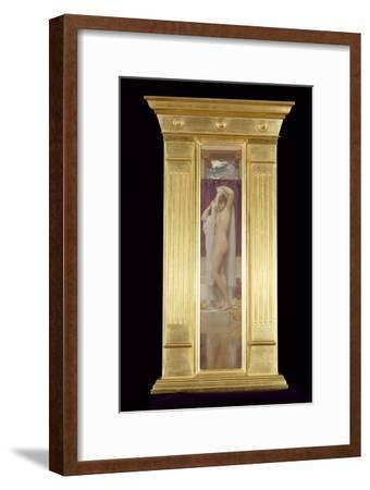 The Bath of Psyche-Frederick Leighton-Framed Giclee Print