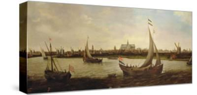 View of Haarlem from the North-Hendrick Cornelisz^ Vroom-Stretched Canvas Print