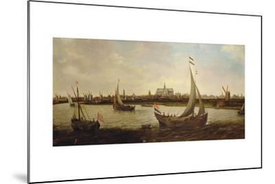 View of Haarlem from the North-Hendrick Cornelisz^ Vroom-Mounted Giclee Print