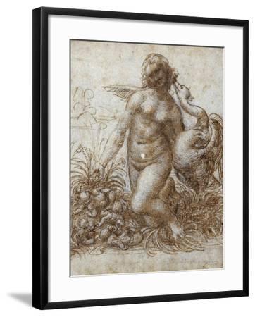 Leda and the Swan-Leonardo da Vinci-Framed Giclee Print