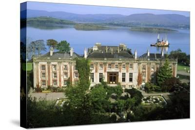 Bantry House and Bay--Stretched Canvas Print