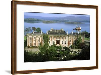 Bantry House and Bay--Framed Photographic Print