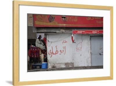 A Street in Cairo--Framed Photographic Print
